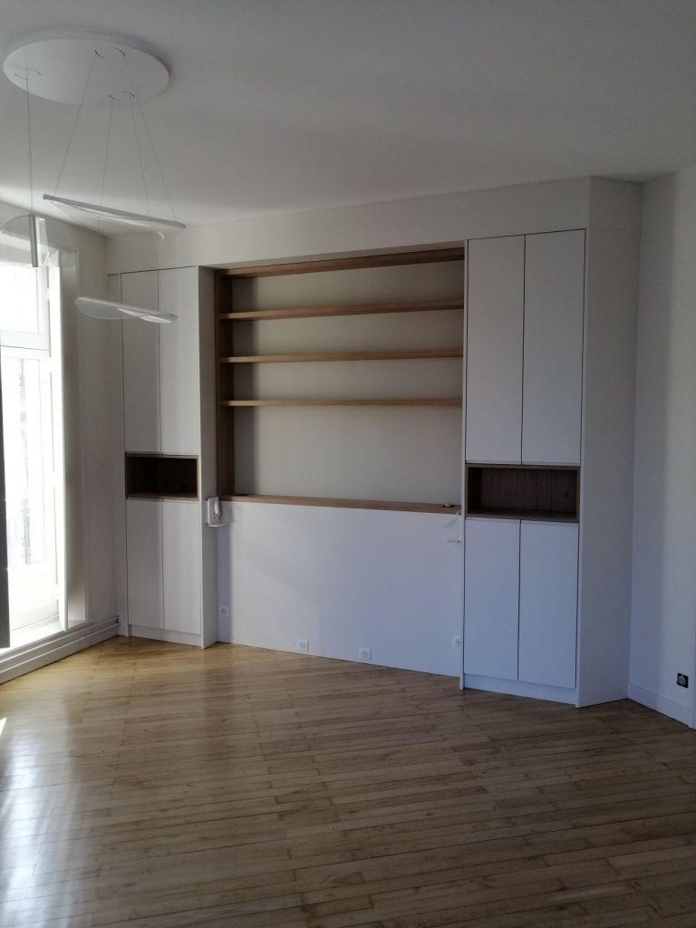 Agencement intérieur a Nantes par Atelier Pompierre